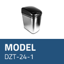 Affaldsspand model DZT-24-1 med sensor