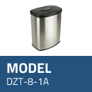 Affaldsspand model DZT-8-1A med sensor